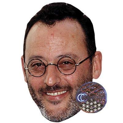 Celebrity Cutouts Jean Reno Big Head.