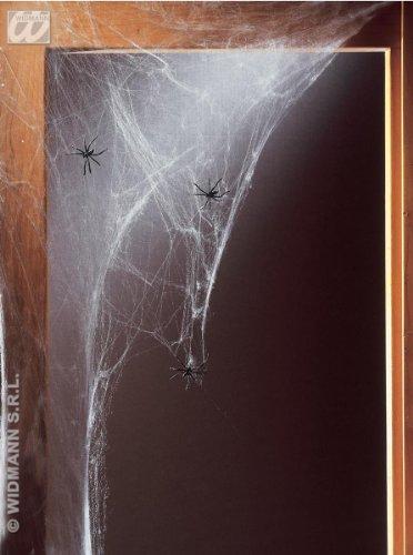 Halloween Riesen Spinnenweben 100g mit 5 Spinnen