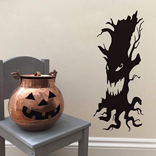 Ayhuir Unheimlich Baum Entfernbare Wandaufkleber Für Kinderzimmer Halloween Dekoration, Halloween Aufkleber Wandbild Tapete Party Hauptdekorationen