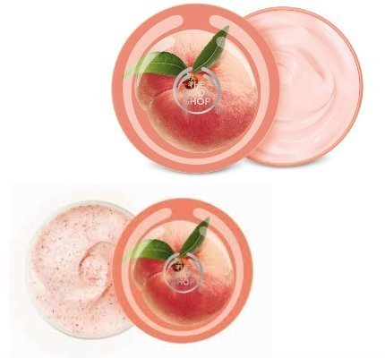 Pfirsich Körper-Peeling 200ml + Pfirsich Körperbutter 200ml *** Sonderausgabe*** Vineyard Peach Body Scrub 200ml + Vineyard Peach Body Butter 200ml SPECIAL EDITION