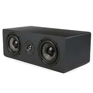 Micca mb42x -C canaux haut-parleur avec double 4en fibre de carbone Woofer et Tweeter à dôme en soie, noir, Consumer Electronics portable/Gadgets