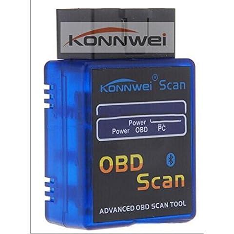 KONNWEI B3 ELM327 Bluetooth automobilistico fault diagnostica scanner rivelatore viaggio computer