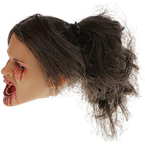1/6 Juguetes de Cabeza de Vampiro para Esculpir la Figura de Acción de 12 Pulgadas