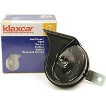 Klaxcar 29435K TR99 2 B - Bocina con relé (12 V), color negro