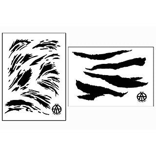 Säure Tactical Camouflage schälen Easy Paint, cerakote Camo Gun Schablonen Vietnam tigerstripe Set