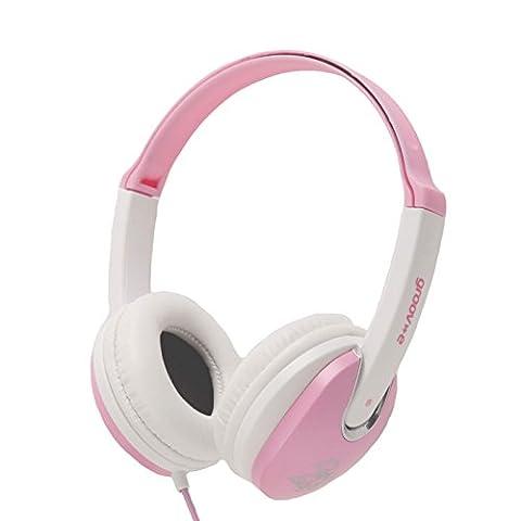 Groov-e Kidz, Kids Headphones, DJ Style, Pink