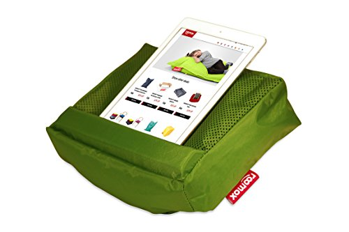 ROOMOX Tosh Cuscino per iPAD, Tela, Verde Limone, 28x6,5x21 cm