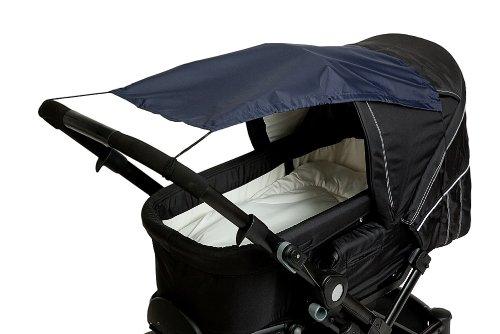 AltaBeBe AL7010 - 01 Sonnensegel mit UV Schutz für Kinderwagen, Buggys, marine