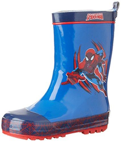Spiderman Sp003310, Bottes de Pluie garçon Blau (NAVY/C.BLUE 461)