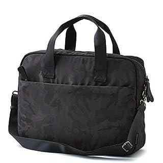 AEO Messenger Bag Camo Print Black Fits 16