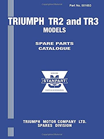 Triumph TR2 and 3 Models Spare Parts Catalogue: Owners Manual