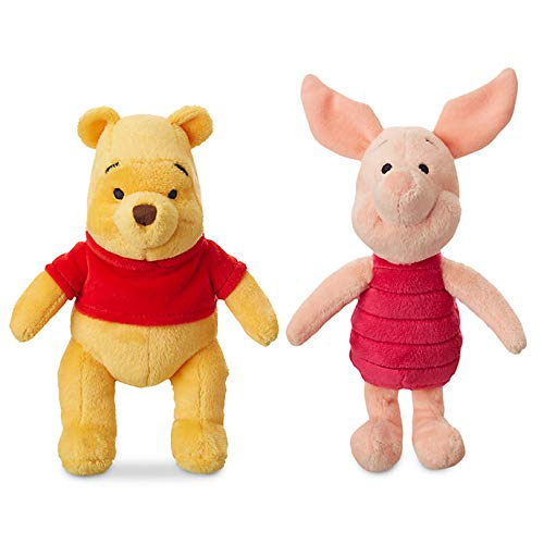Price Toys Winnie The Pooh Kuscheltier Disney Mini Bohne Collection.- Pooh, I-AH, Ferkel und Tigger (Pooh / Piglet)