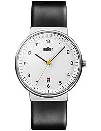 Braun Herren-Armbanduhr Unisex Analog Quarz BN0032WHBKG