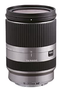 Tamron Objectif 18-200 mm F/3,5-6,3 DiIII VC Argent - Monture Sony (monture Type E)