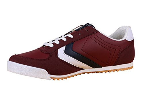 Toni Ellen® Tiger Erwachsene Herren Damen Unisex Schuhe Sneaker Sportschuhe - Gr. 40-44 Rot