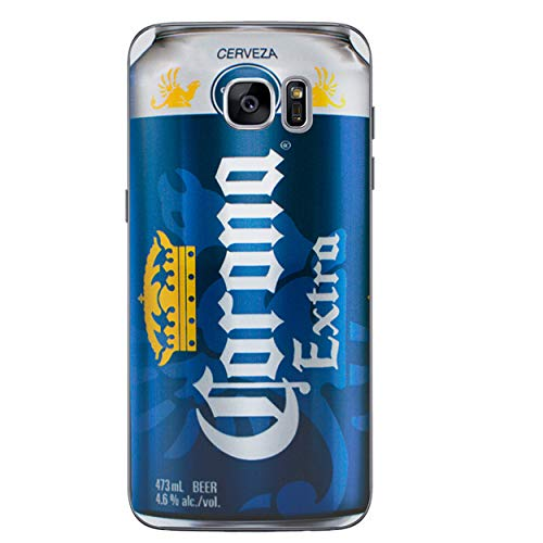 EJC Avenue Bier Telefon Hülle/Case Gel TPU Abdeckung fürSamsung Galaxy S7 (G930) mit Display Schutz Corona