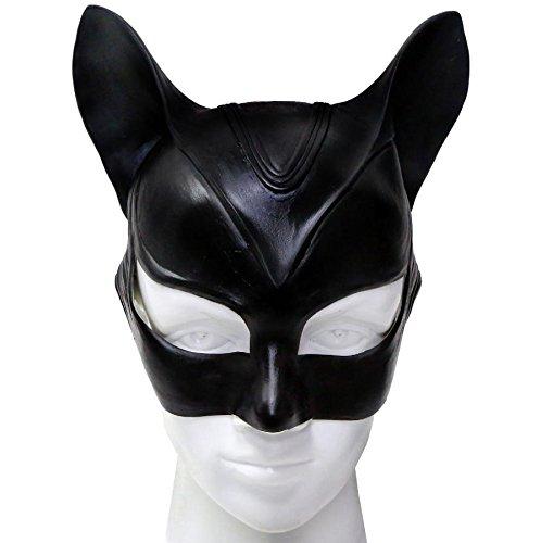 Kostüm Zubehör Erwachsene Damen Latex Voller Kopf Helm Halloween Fancy Dress Merchandise (Cat Fancy Dress Kostüme Halloween)