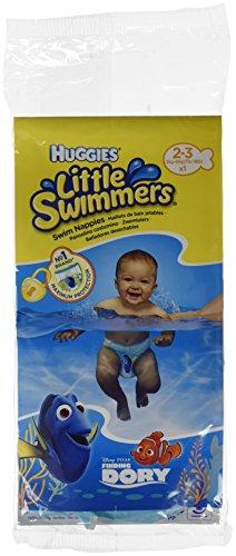Huggies Little Swimmers Einweg einzeln verpackte Schwimmwindeln, Größe 2 - 3, 36 Stück
