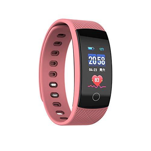 Elospy Fitness Tracker, Fitness Armband mit Herzfrequenzmessung, Wasserdicht IP67, Sport Aktivitätstracker Smartwatch Mood Tracker, Message Reminder Kompatibel, Anruf für iOS, Android Handy - Plus Training Schuh