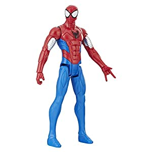 Marvel Spiderman-E2343 Titan Spider-Man Blindado, Multicolor (Hasbro E2343ES0)