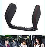 DIVAND Headrest für den Autokennsitz, Weck-Kissen-Neck Unterstützung, 180 ° Rotation Adjustable Support auf beiden Seiten des Autokennsitzes, geeignet für Erwachsene und Kinder