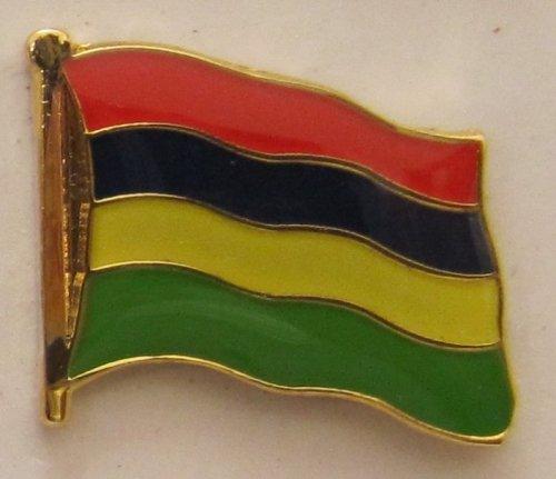 Mauritius Pin Anstecker Flagge Fahne Nationalflagge Flaggenpin Badge Button Flaggen Clip Anstecknadel -