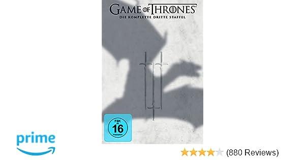 Game of Thrones - Die komplette dritte Staffel 5 DVDs: Amazon.de ...