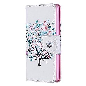 Tosim Nokia 1Plus Hülle Leder, Klapphülle mit Kartenfach Brieftasche Lederhülle Stossfest Handy Hülle Klappbar für Nokia 1 Plus – TOBFE050161 T1