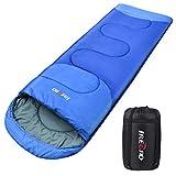 Sotical Schlafsack, Deckenschlafsack 1.0 kg Leichtgewicht Warm Outdoor 100% Baumwollhohlfaser für Camping,Wandern,sonstige Aktivitäten im Freien im 4-Jahreszeiten leicht in Tragetasche,220 x 80cm