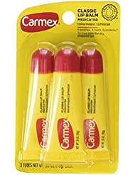Carmex - 3x Lip Moisturizing Tube, Original Balm aus den USA!!