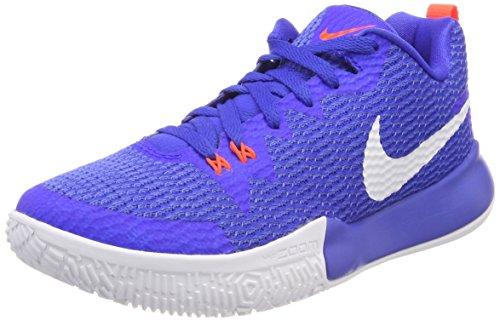 Nike Herren Zoom Live II Basketballschuhe, Blau (Racer Blue/White-Light Racer Blue-Total Crimson 400), 47 EU