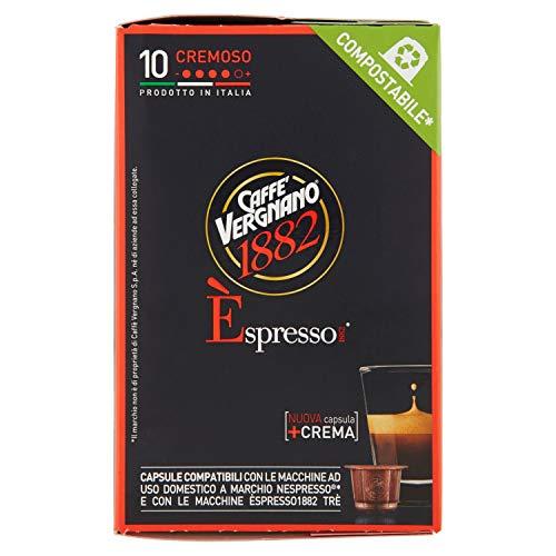 Caffè Vergnano 1882 Espresso Cremoso - 10 Capsule