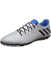 adidas Messi 16.3 Tf, Men's Football Boots, Plata (Plamet/Negbas/Azuimp)