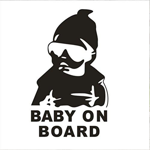 zhhlaixing-aufkleber-2pcs-funny-baby-on-board-car-window-vinyl-sticker-decals-body-reflective