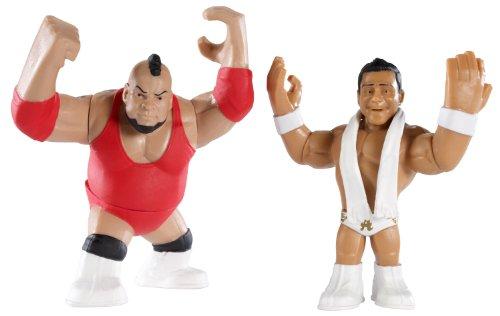 WWE - Catch - Mini figurines - Rumblers - Double Pack - Brodus Clay et Alberto Del Rio