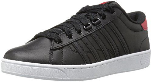 K-Swiss Herren Hoke CMF Sneaker, Schwarz(Black/RED), 44.5 EU