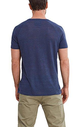 ESPRIT Collection Herren T-Shirt Blau (Navy 400)