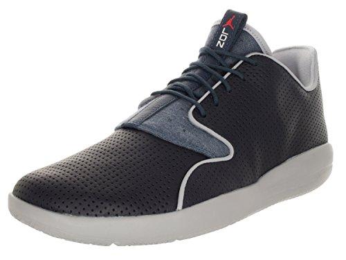 Nike Jordan Eclipse Ltr, Chaussures de Sport Homme, Taille Bleu / orange (obsidienne foncée / pourpre vif - bleu escadrille)