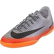 Nike JR Mercurialx Victry 6 CR7 IC Zapatillas, Niños, Gris, 27.5