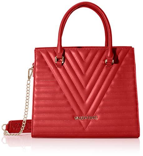 Valentino by Mario Cajon, Sac porté main femme, Rouge (Rosso), 13x26x32 cm (B x H T)