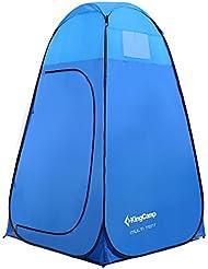 KingCamp Pop-Up Multi 450mm impermeable carpa baño vestuario para Camping Playa Picnic almacenamiento