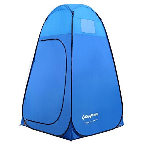 KingCamp Pop Up 450mm Multi Carpa Resistente al Agua Baño Vestuario para Camping Impermeable Playa Picnic Almacenamiento Portátil