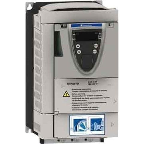 Schneider inverter elettrico ATV61HU55N4Z 5,5 kw m, azionamento della valvola a farfalla=<1 kV 3389119205238