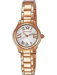 Pierre Cardin Special Collection - Reloj analógico de cuarzo para mujer, correa de acero inoxidable, color rosa dorado/plata/rosa dorado, Swiss Made