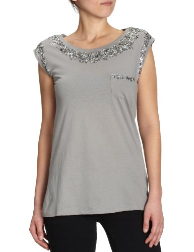 Shivadiva sD-tS-shirts/serrure 0,75–1 femme t-shirts pull et chemisiers Gris - Grau (Pacific Grey )