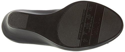 Melissa Queen Wedge 16, Sandales avec talon compensé Noir - Black (1003-Black Matt)