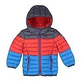 CMP Kinder Jacke Child Jacket Fix Hood 38Z1642KB Cyano 98
