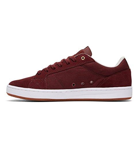 DC  Astor, Chaussures de skateboard pour homme multicolore noir/blanc Oxblood/Oyster