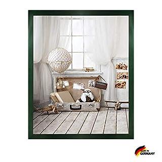Woody Deluxe Massivholz Bilderrahmen Posterrahmen 84x118,8 cm Grün118,8x84 cm mit weissem Hintergrund und extra starkem 2 mm Antireflex Acrylglas
