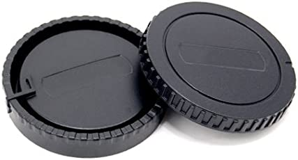 JJC L-R6 Front and Rear Lens Cap for Sony Body and Lens